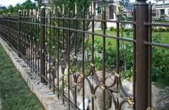 Кованый забор на заказ 2