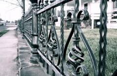 Кованый забор на заказ 3
