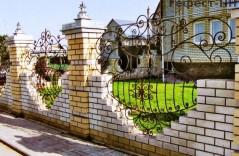 Кованые заборы любой сложности на заказ в Ростове-на-Дону