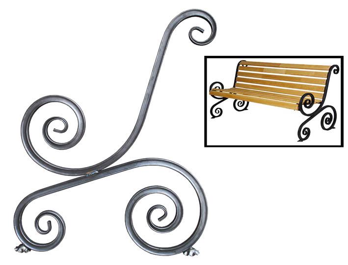 Кованые элементы из профильной трубы